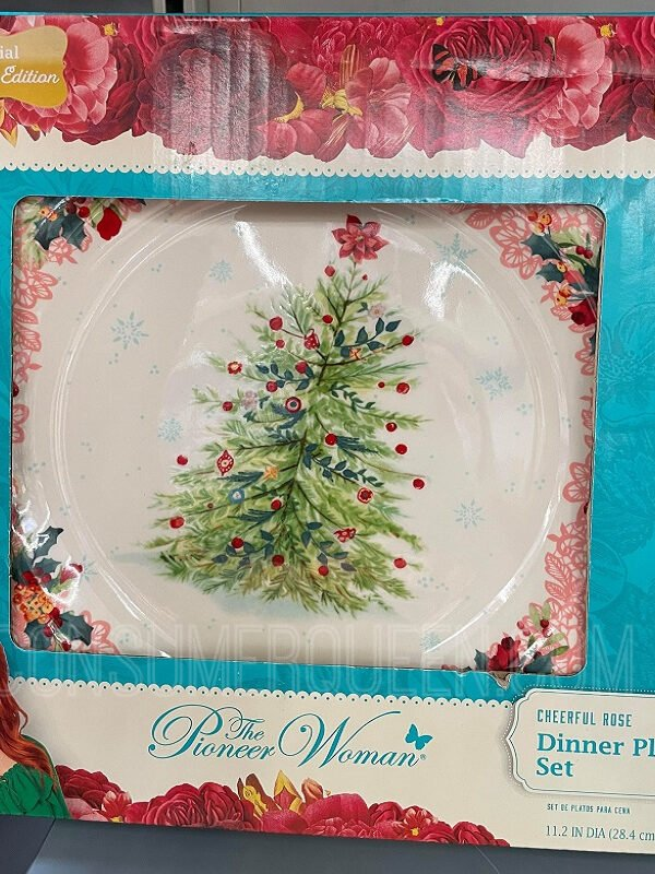 New Pioneer Woman Christmas Pieces at Walmart – So Pretty!