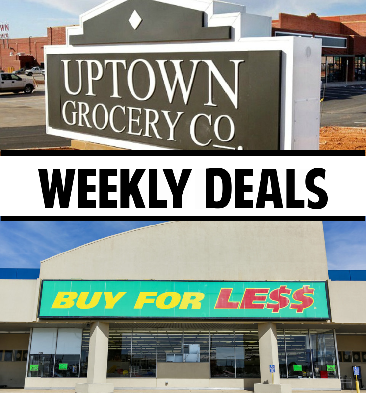 Three Good Deals at Uptown & Buy For Less