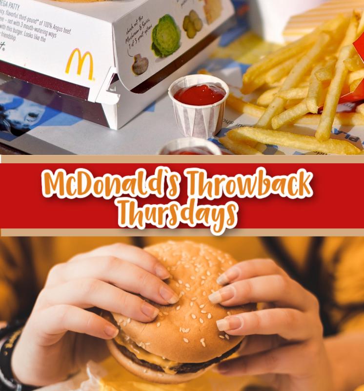 McDonalds Throwback Thursday