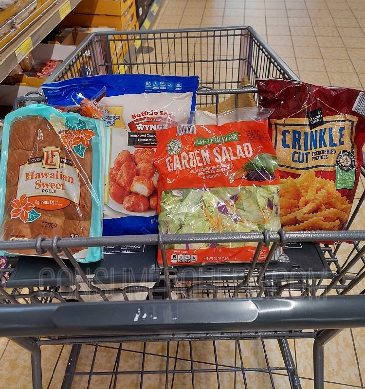 Buffalo Chicken Wings Dinner for 4 – Only $10 at Aldi + Leftovers!