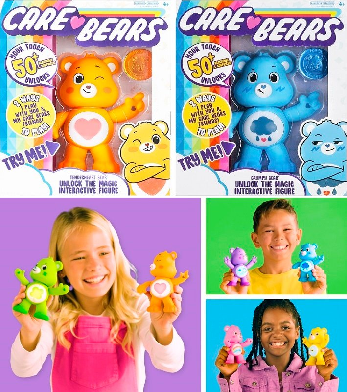 Care Bears 5 Inch Interactive Toys $5 (Reg. $14.99)