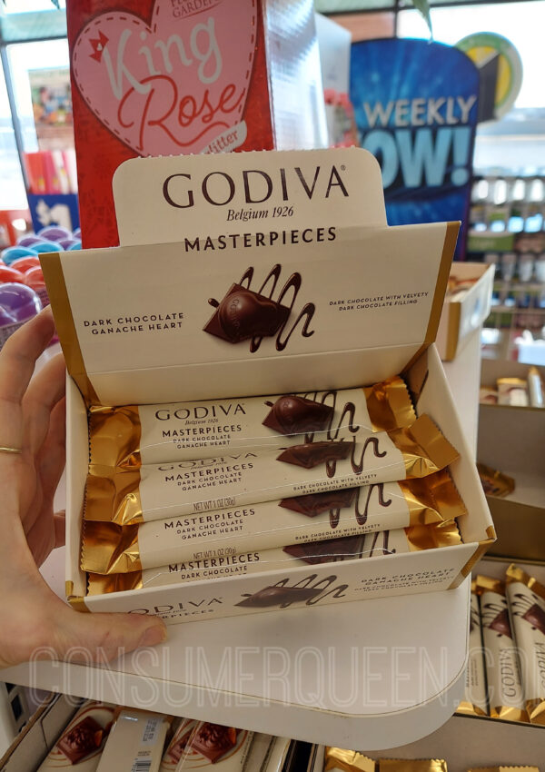 Godiva Chocolates at Dollar Tree