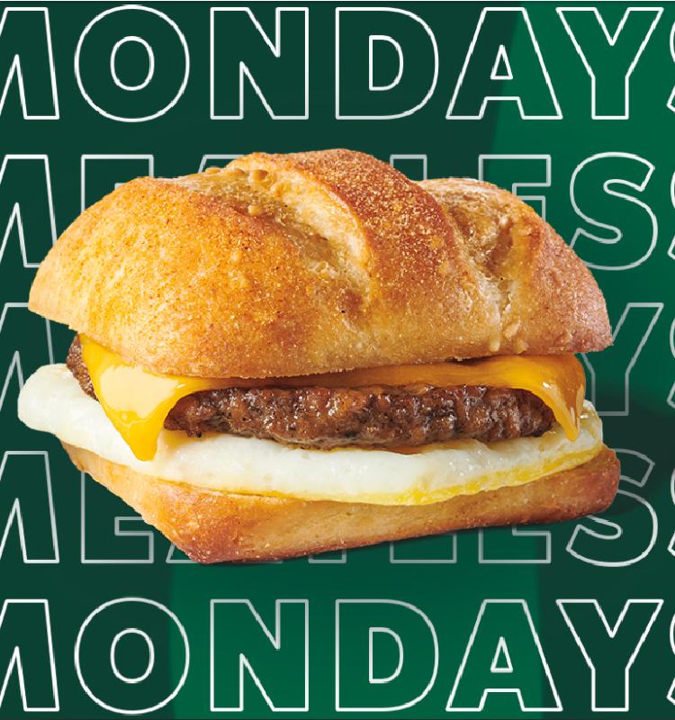 Meatless Monday at Starbucks – $2 Off Select Breakfast Menu!