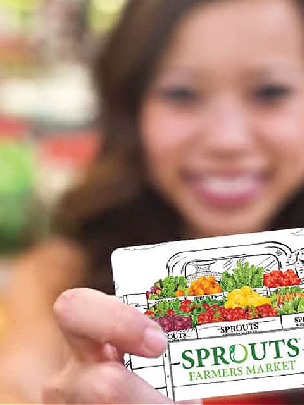 Sprouts $100 Gift Card ONLY $89 – While Supplies Last!