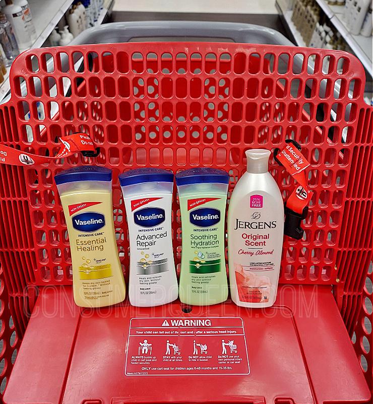 Vaseline Body Lotion 10¢ + Free Jergens at Target This Week!