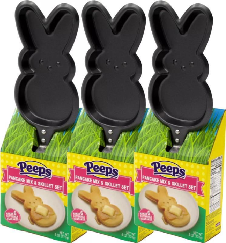 Peeps Pancake Mix and Skillet Set