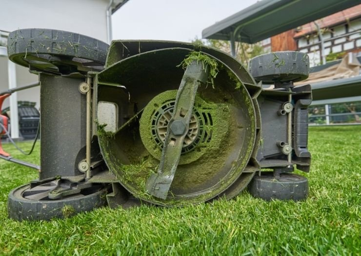 Keep it Clean - Lawn mower cutting grass - Sears PartsDirect Coupon Information and Signup