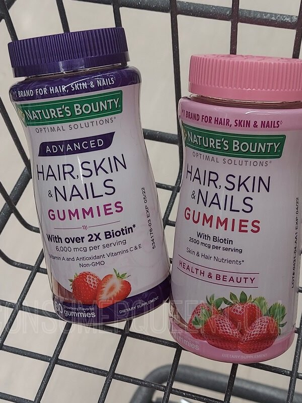 Natures Bounty Hair, Skin & Nails Gummies
