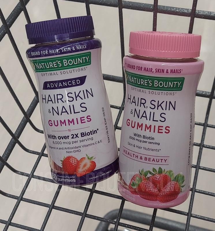 Natures Bounty Hair, Skin & Nails Gummies