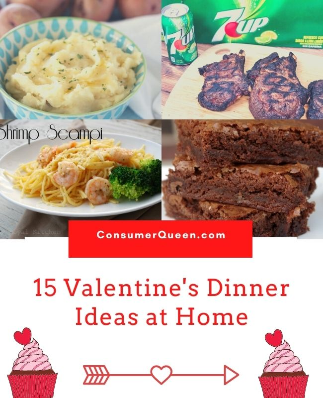 Valentines Day Dinner Ideas at Home