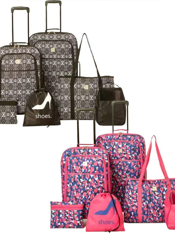 6 Piece Luggage Sets $39 (Reg. $180)