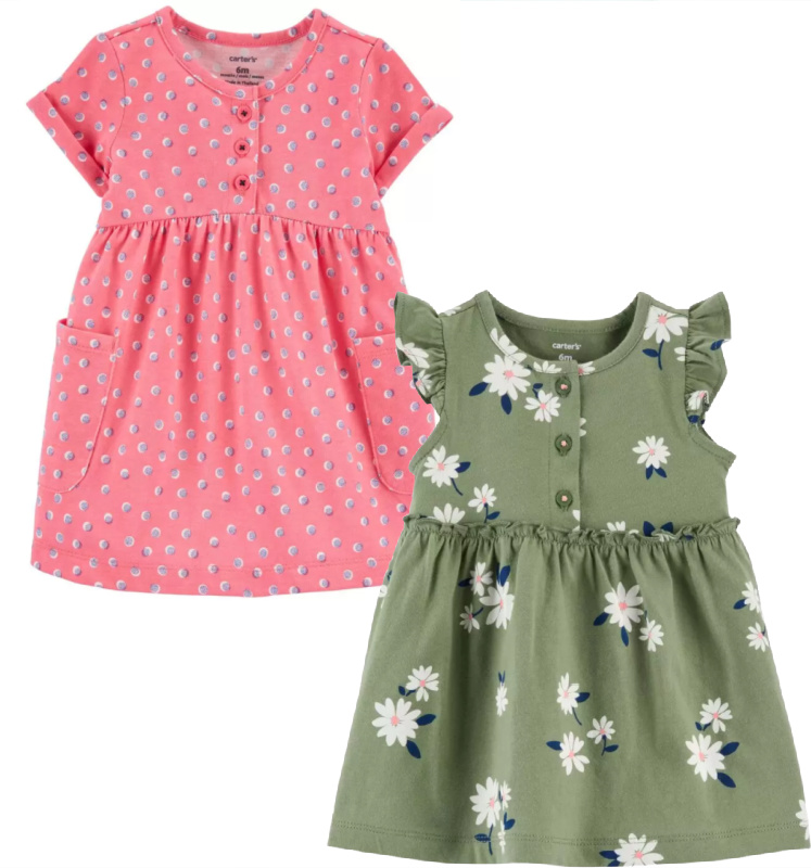 Carter's Baby Dresses $10.80 (Reg. $18!)