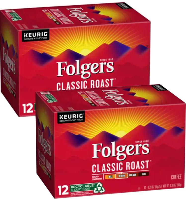 RARE Folgers Coupon – K Cups Only $3.99 at CVS!