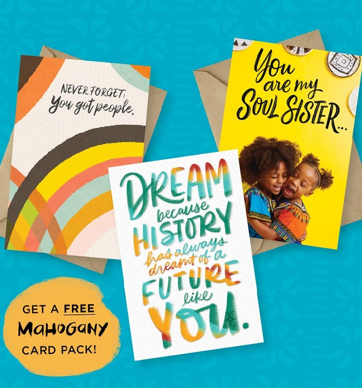Hallmark Mahogany Cards 3 Pack Free – Shipping Included!