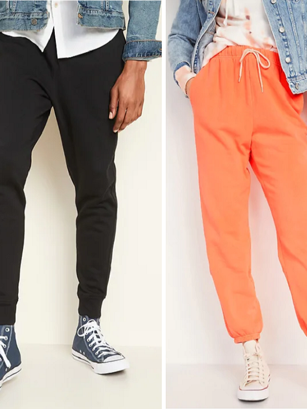 Old Navy Joggers 50% Off – Prices Start at $15 *EXPIRED*