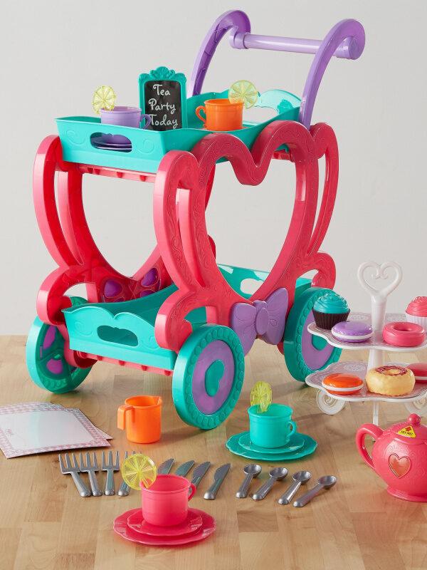 Tea Cart Play Set 47 Pieces $13.98 (Reg. $19.97)