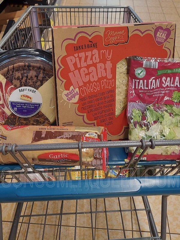 Valentine's Dinner for 2 Under $20 at Aldi!