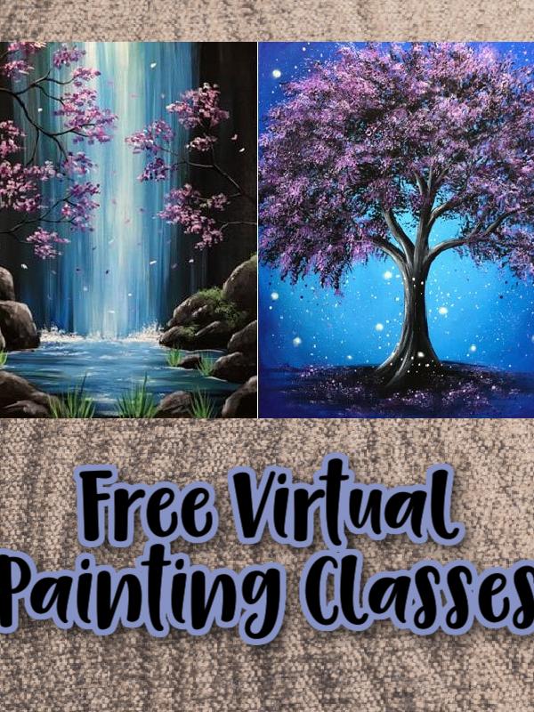 Free Virtual Painting Classes