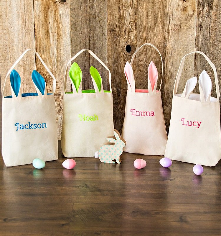 Personalized Bunny Tote Bags $9.99 Shipped *EXPIRED*