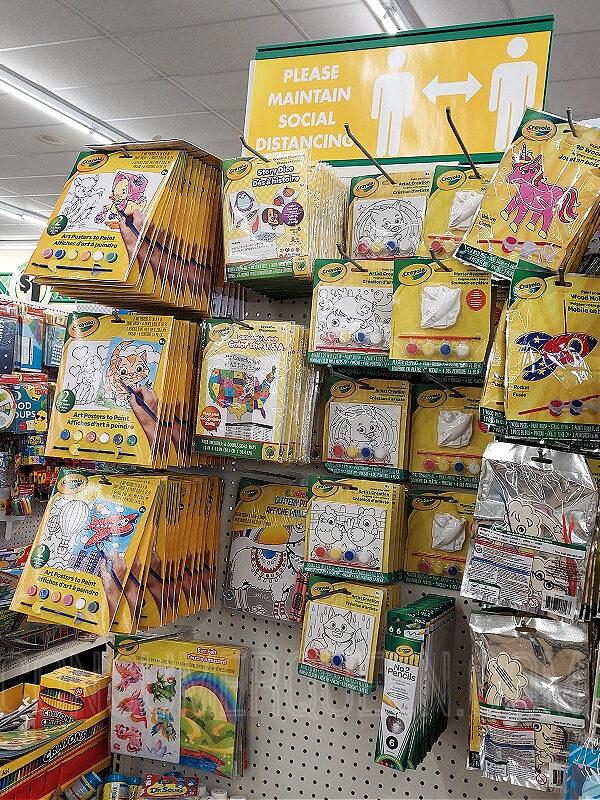 Crayola Crafts at Dollar Tree