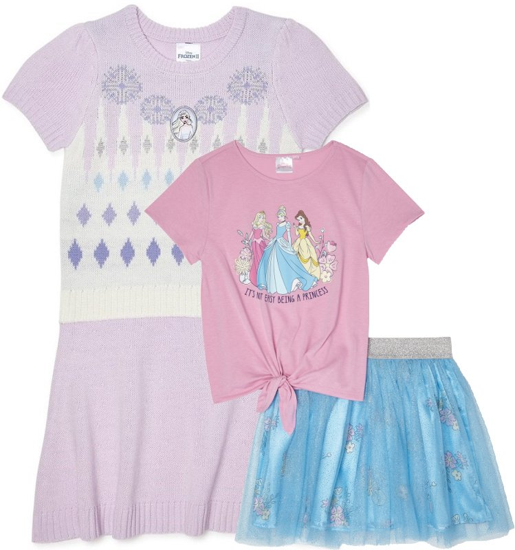 Disney Frozen 2 Apparel for Girls Starting at $6