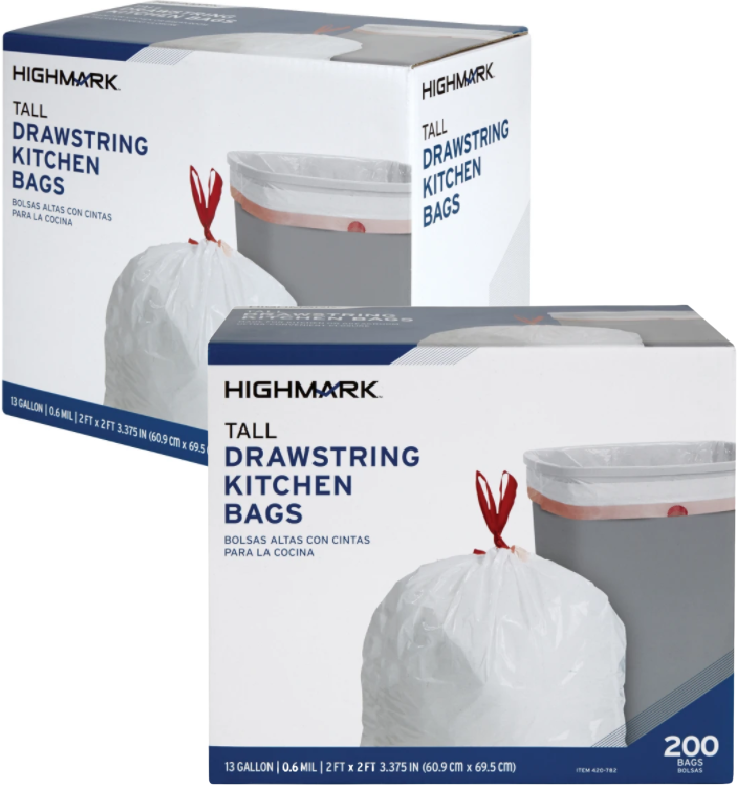 Kitchen Trash Bags 200ct. Just $8!