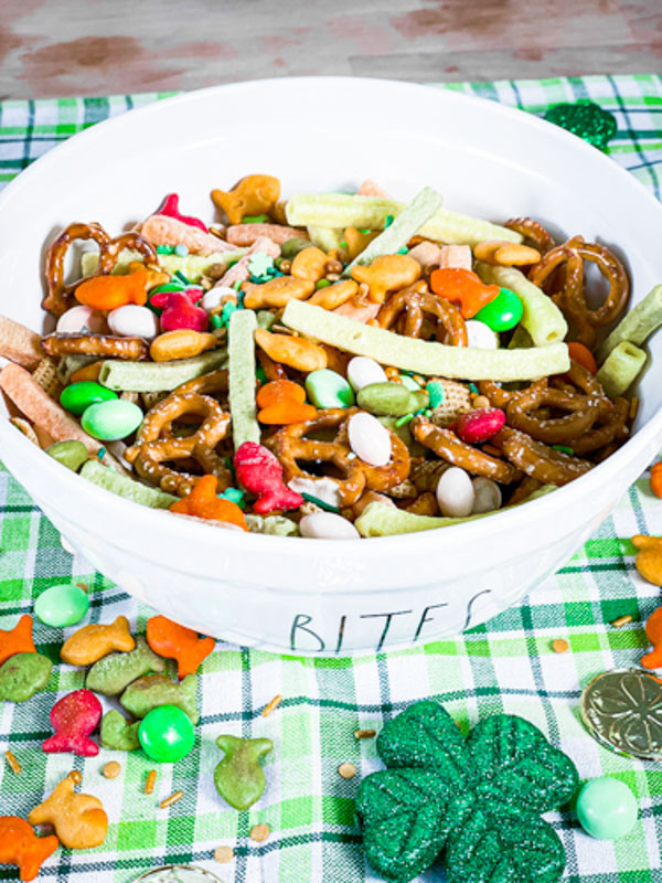 pot of gold full shot -St. Patrick's Day Snacks
