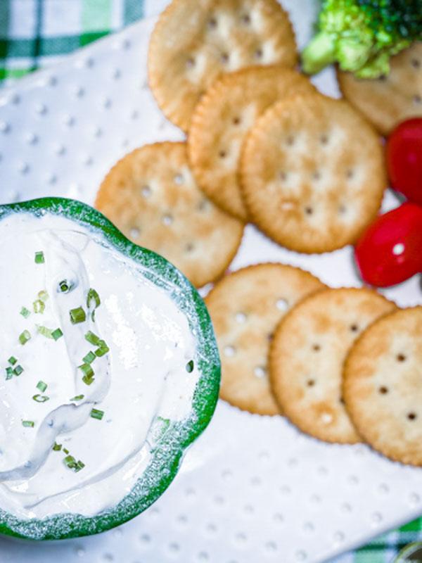 Easy 3 Ingredient Veggie Dip Recipe