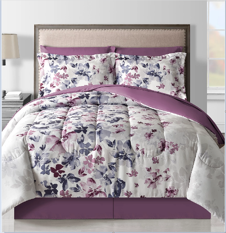 8 Piece Reversible Comforter Sets – ALL Sizes $29.99 Shipped (Reg. $100)
