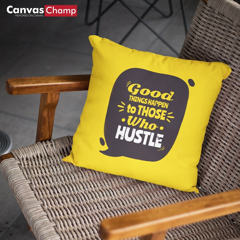 Canvas Champ Pillow