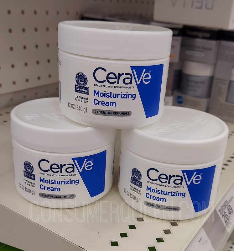 FREE CeraVe Moisturizing Cream Sample!