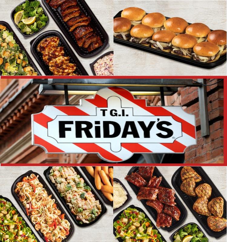 TGI Fridays Family Bundle Meals