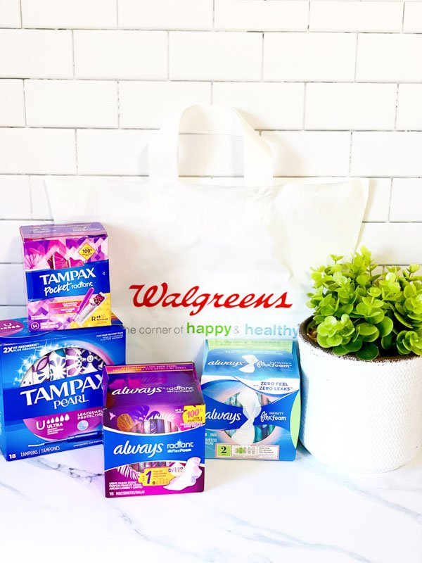 Walgreens Rewards Deal: Tampax and Always