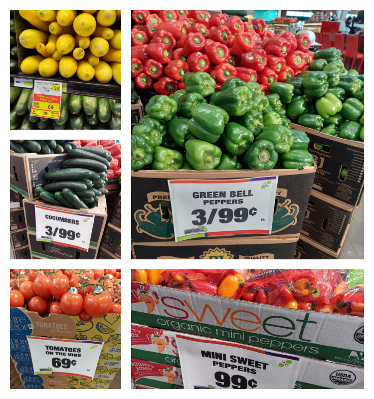 Uptown Grocery Spring Produce Sale