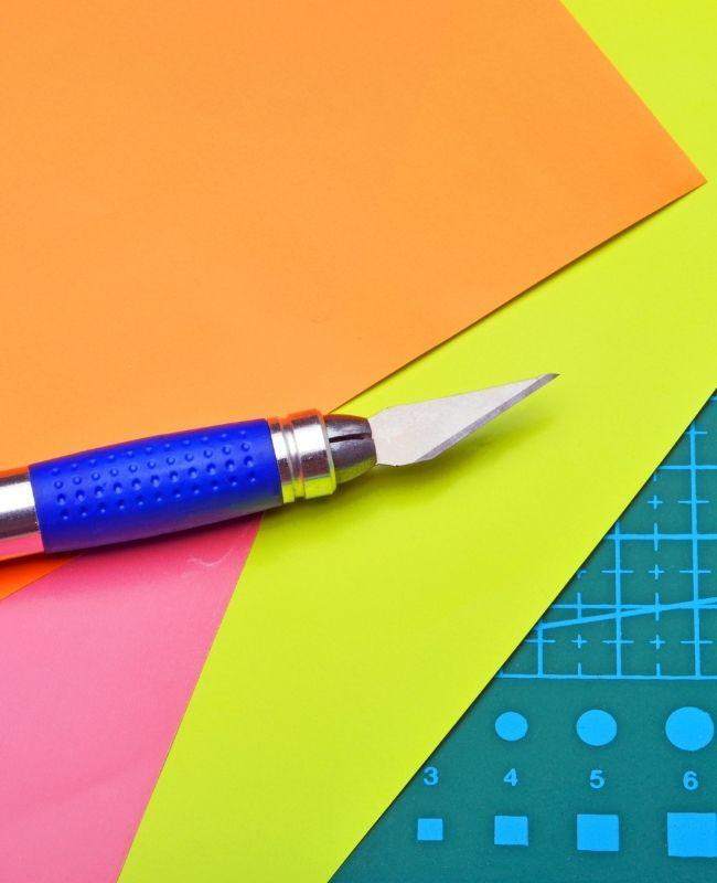 paper crafting cutting mat