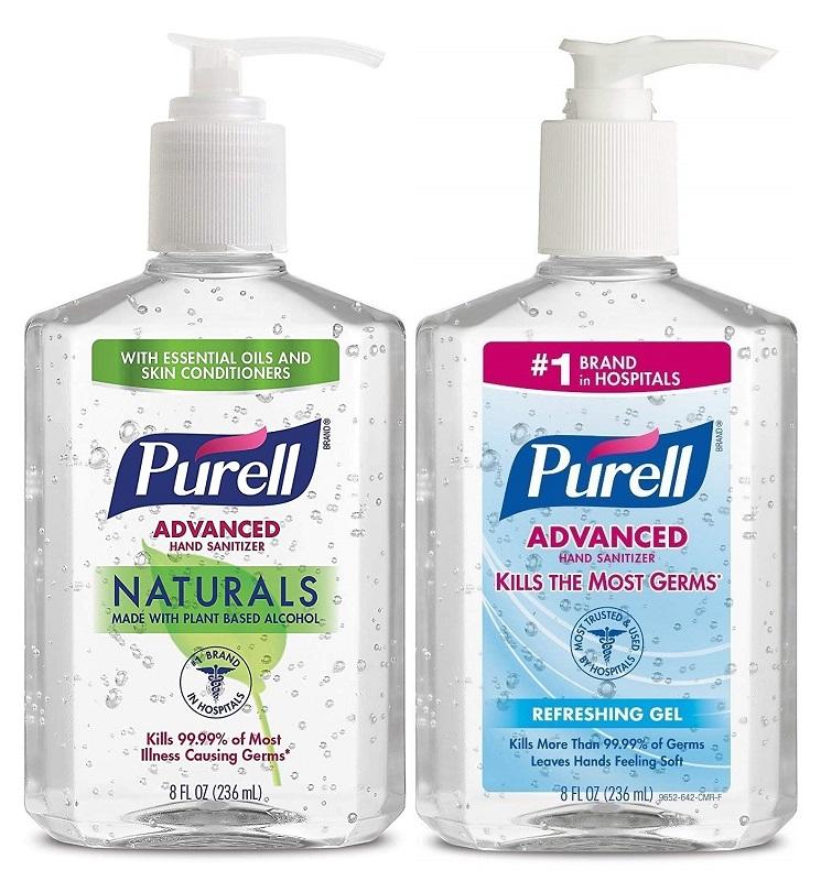 Purell Advanced Hand Sanitizer 73¢ at Walmart