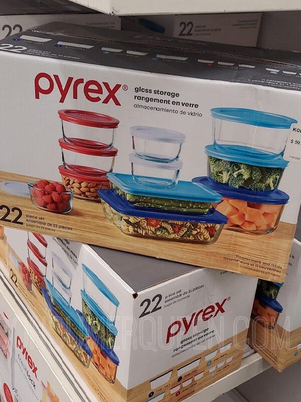 Pyrex 22 Piece Storage Set $25.49 (Reg. $59)