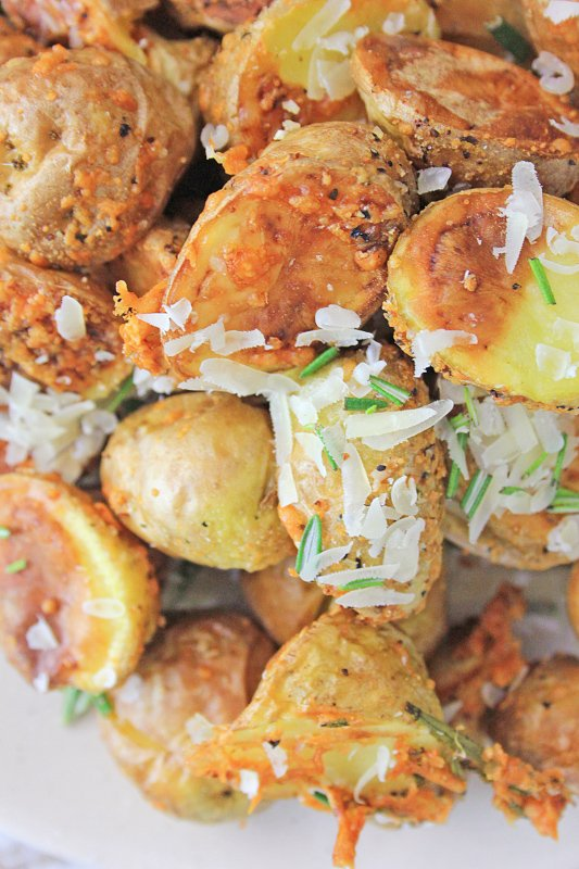 Air Fryer Potatoes with Rosemary