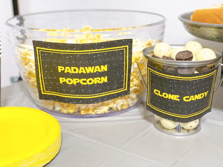 Padawan Popcorn