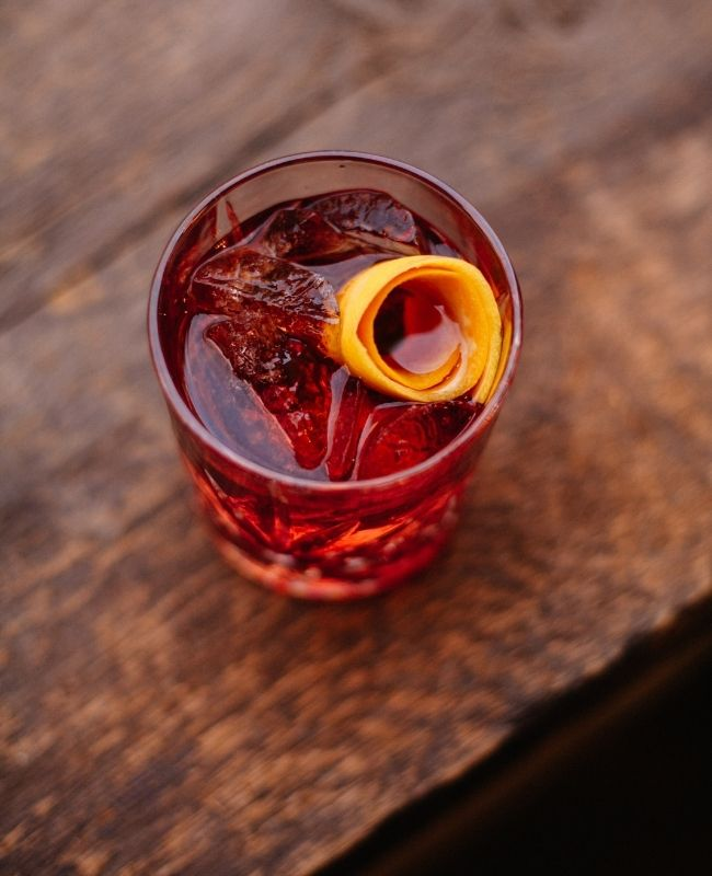 Negroni Mocktail -non alcoholic drinks recipes
