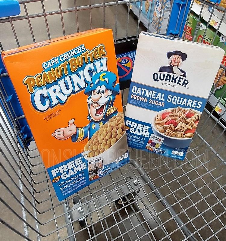 Quaker Cereal $1.57 at CVS