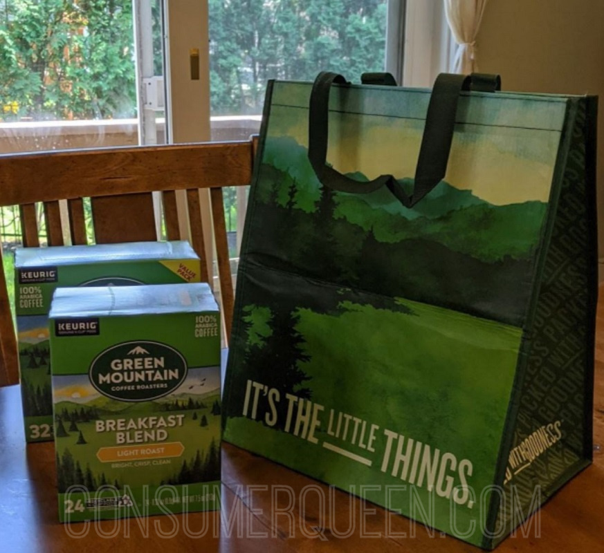 Free Tote & $12 in Coupons WYB $15 in Select K-Cups!