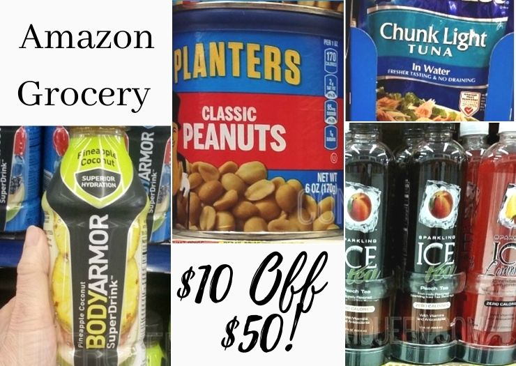 Prime Grocery Deal: $10 off Your $50 Purchase!