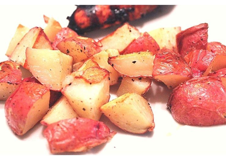 Garlic Infused Roasted Potatoes Recipe