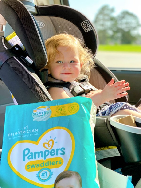pampers car seat