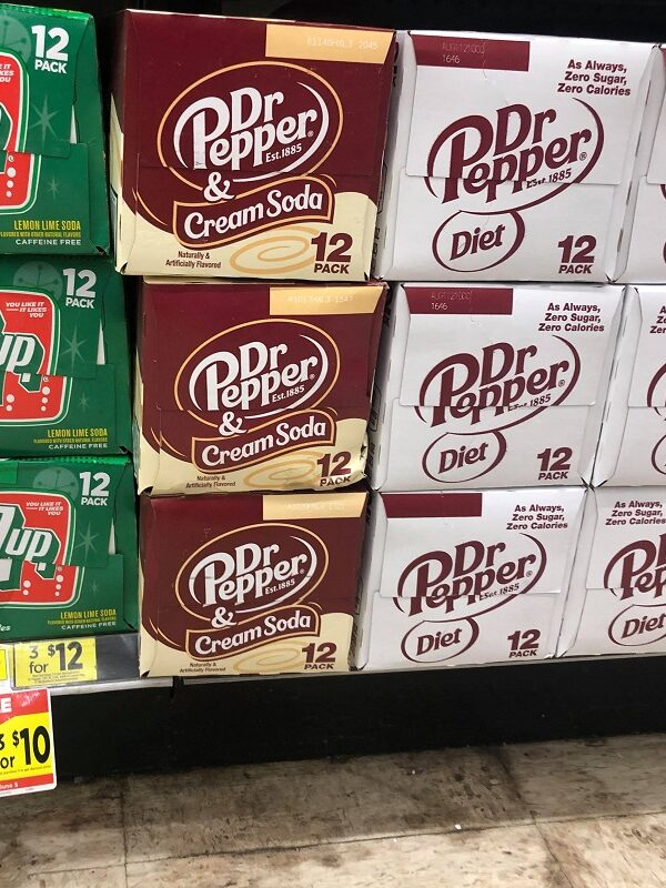 Dr. Pepper 12 Packs $3.33 + FREE Dr. Pepper Zero