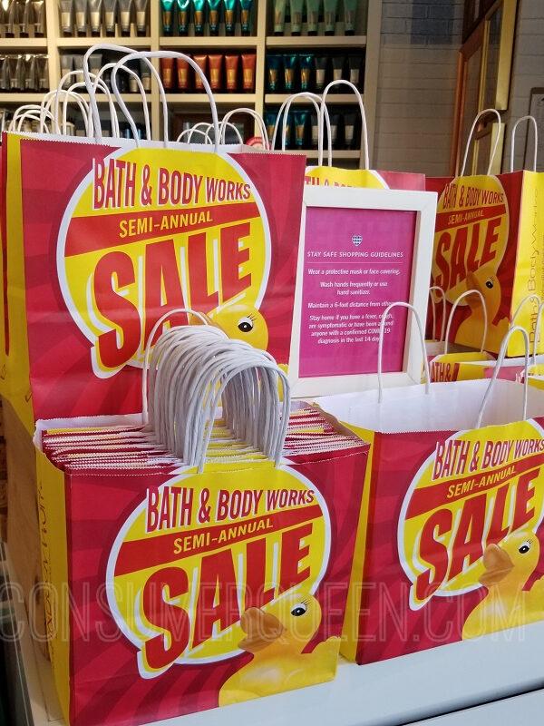Semi-annual Sale at Bath & Body Works