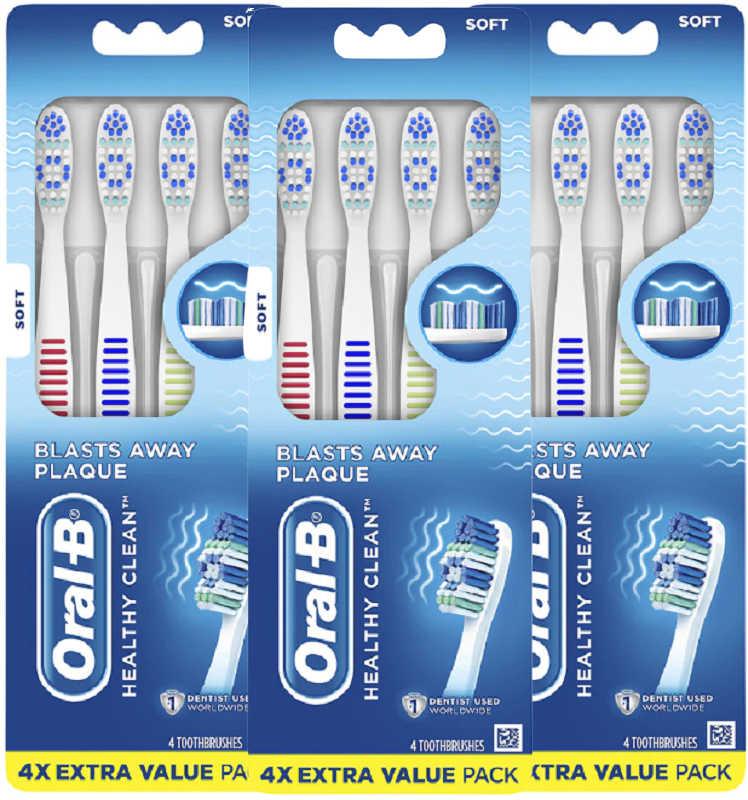 8 free Oral-B toothbrushes