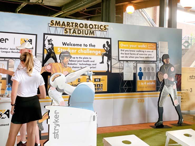 stryker smart robotics stadium