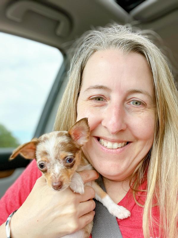 First day we got Matilda -Checklist for new puppy
